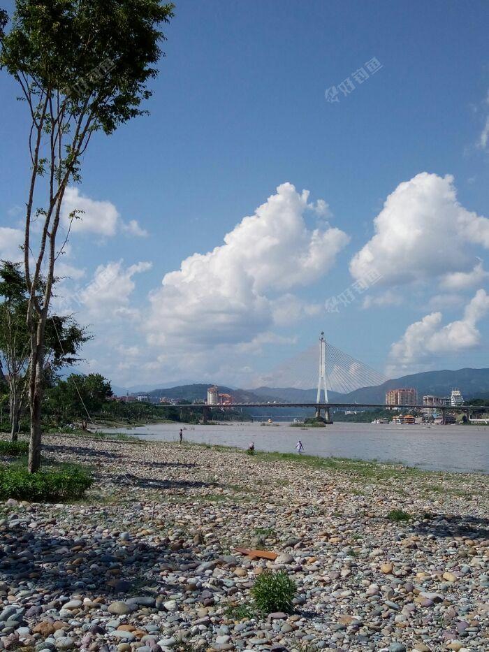 景洪大桥风景