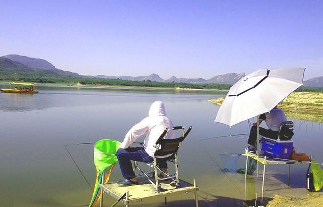 夏季水庫釣魚掌握三個心得