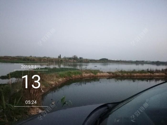 河对面,那边的路比这边宽好多,但是路一样的烂,坑坑洼洼,今天的钓点在图片上13的那个1字那里,有块开阔的地方