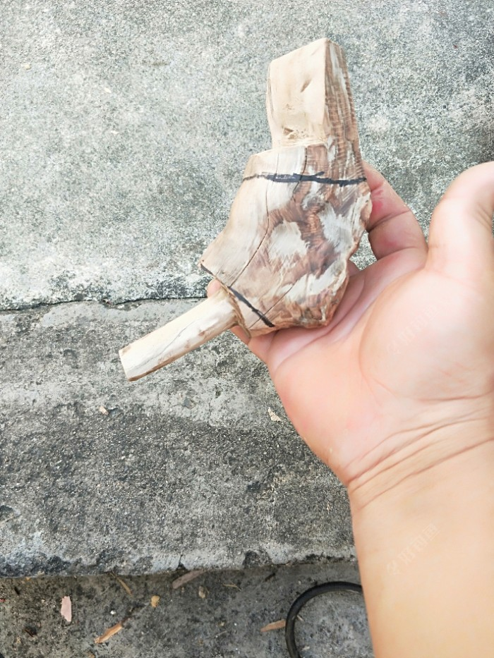 一本辣韭矢竹竞技竿挂,创意DIY完整版(图13)