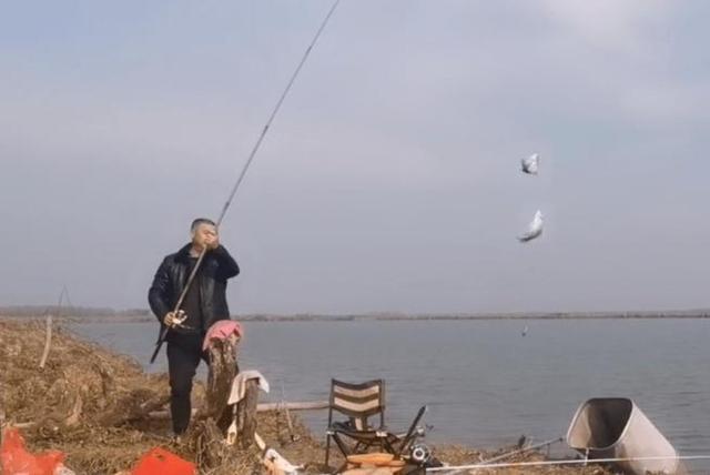 低温,传统的钓鱼根本不起作用?这位20岁的司机倾注了他所有的钱来帮忙