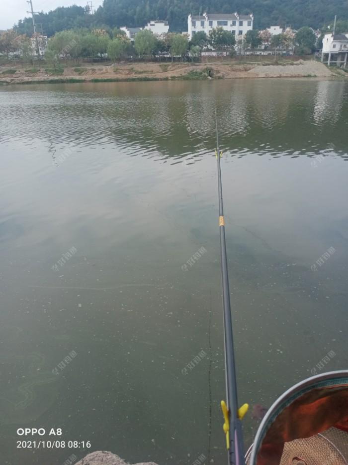 对岸几乎无人作钓。